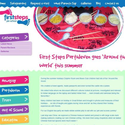 first steps cornwall website blog post 420x420 - First Steps Cornwall