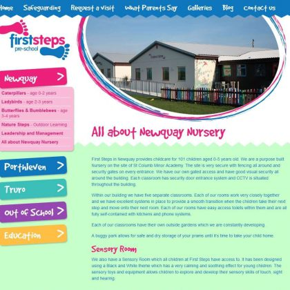 first steps cornwall website newquay 420x420 - First Steps Cornwall