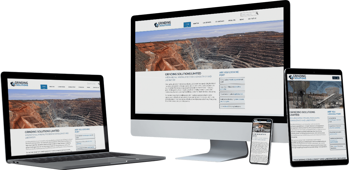 grinding solutions ltd website screens - Grinding Solutions Ltd