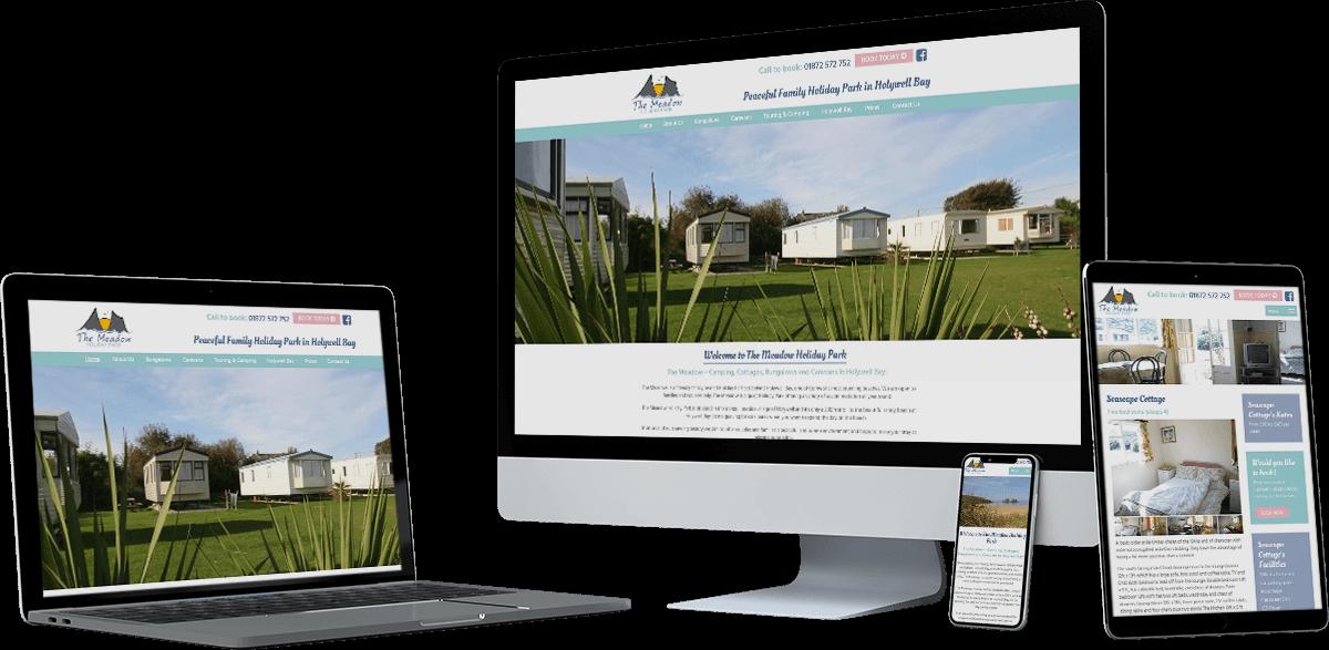 holywell holiday park website screens - Holywell Holiday Park