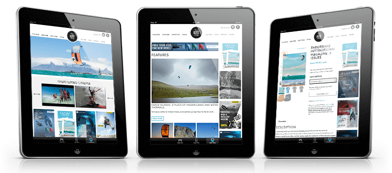 the kitemag website ipads - The Kite Mag