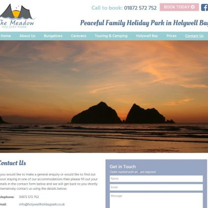 holywell holiday park website contact 420x420 - Holywell Holiday Park