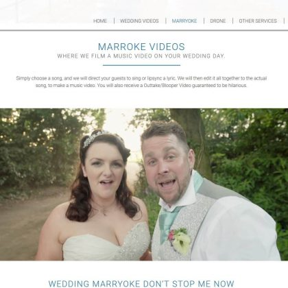 i do film weddings website marryoke 1 420x420 - I Do Film Weddings