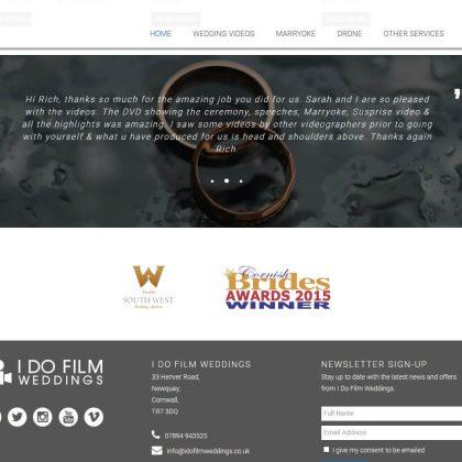 i do film weddings website testimonial 1 420x420 - I Do Film Weddings