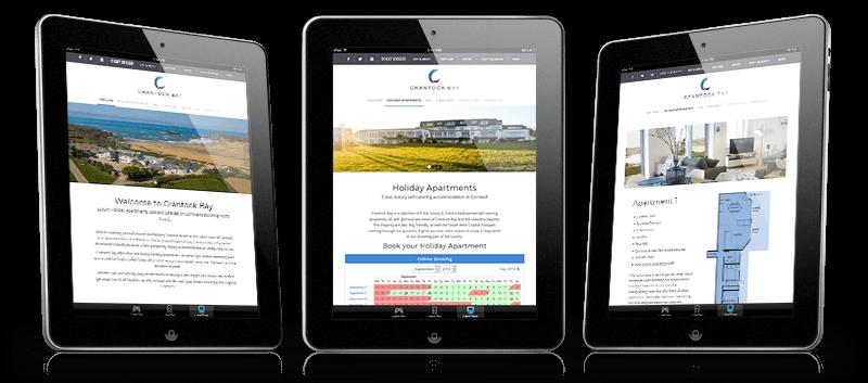 crantock bay website ipads - Crantock Bay